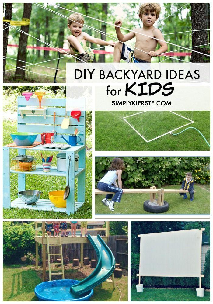 Kids Garden Games Ideas