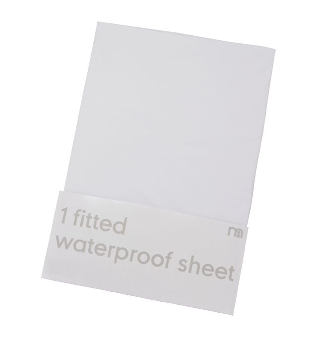 Mothercare Ed Waterproof Cot Bed Mattress Protector