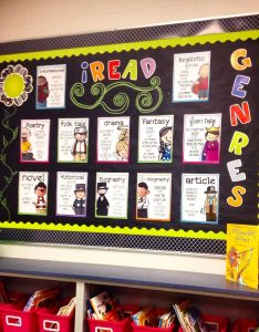 Library ideas also teaching in high heels classroom pinterest genre rh