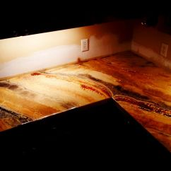 Epoxy Resin Kitchen Countertops Home And Stores Diy Counter Top Countertop Pinterest