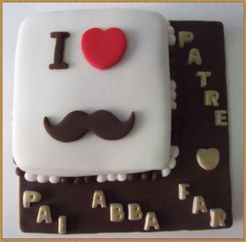 Resultado de imagem para bolo dia dos pais