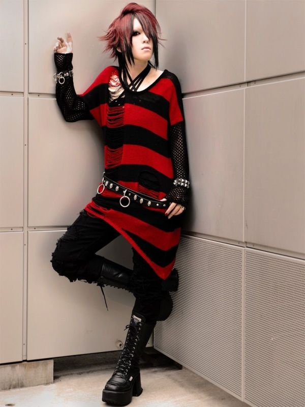 Visual Kei. Fashion Anime
