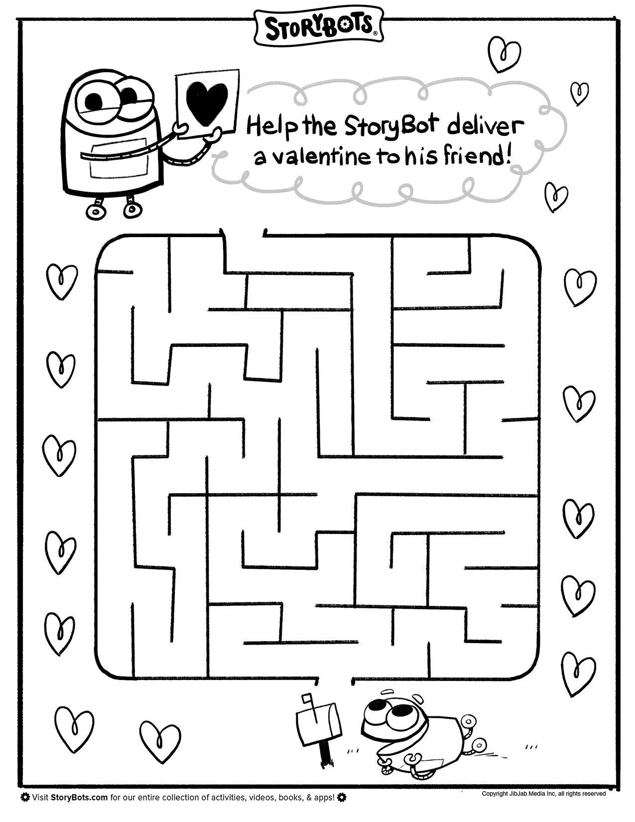 Valentine S Day Maze