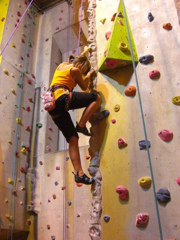 ' . Rock Climb Indoors Of . Started Free Climbing Indoor