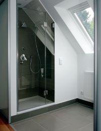 Dusche unter der Dachschrge   Badezimmer   Pinterest ...