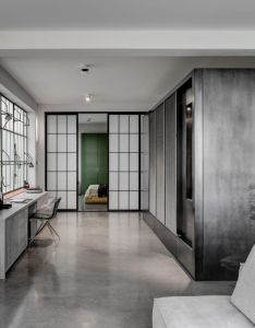 This metallic apartment in london features dezeen   best interior design projects of the year also top interiors flats and rh uk pinterest
