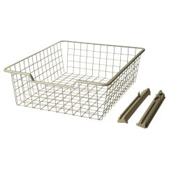 Kitchen Sliding Baskets Beadboard Cabinets Ikea Wire Basket 10 Bedroom Pinterest