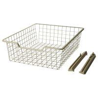 Ikea Sliding Wire Basket, $10 | Bedroom | Pinterest | Wire ...