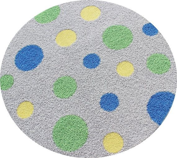 Yellow Polka Dot Rug Rugs Ideas