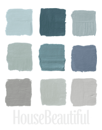 Blue Gray Paint on Pinterest