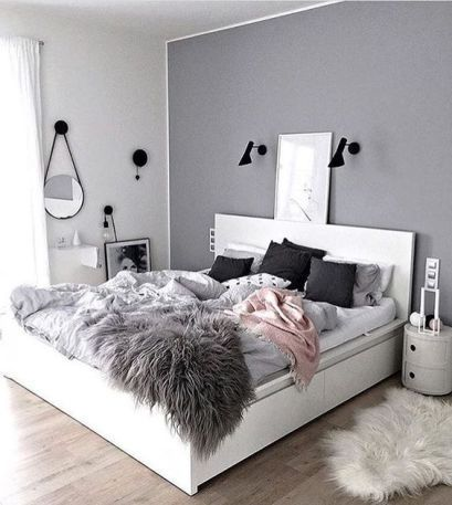 Teen bedroom color ideas accent wall also makeover colors and bedrooms rh pinterest