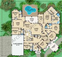 Interesting floor plan. | Floor Plans | Pinterest | Luxury ...