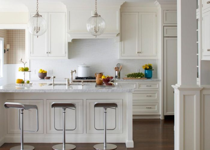 Light fixtures our favorite white kitchens also  on palette is just right for this open concept kitchen