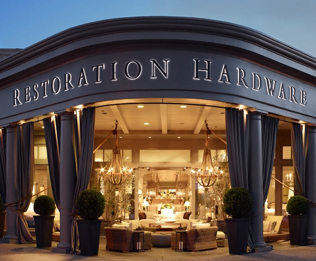 Just Discovered Restoration Hardware They Have The Most