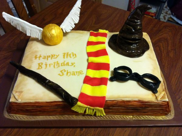 Harry Potter Birthday Sheet Cakes