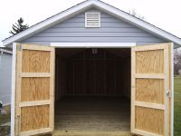 Shed Doors | Deere Shed | Pinterest | Doors, Storage and ...
