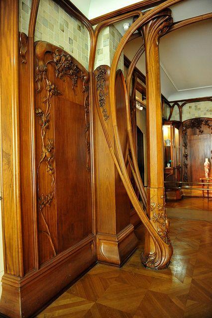 Art Nouveau Furniture Exhibit At Mus DOrsay Exhibit