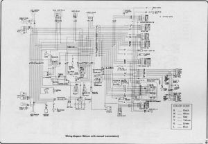 Wiring diagram for nissan 1400 bakkie #7 | nissan
