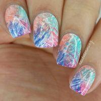 Nail Art Tutorial: Abstract Design (Fan Brush) | nail ...