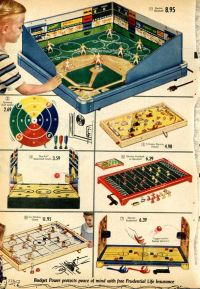 Vintage Sports-themed Board Games from a 1955 Spiegel ...