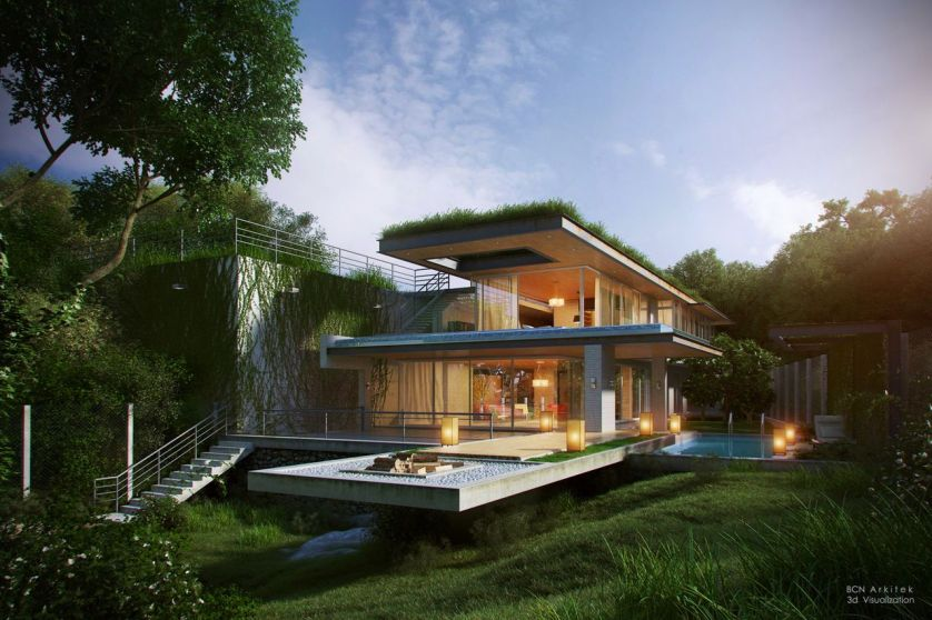 689f8d43a54e8e0aa3ddf3d374a0e013 - THE MOST AMAZING ROOF TOP GLASS HOUSE IDEAS AND PICTURES