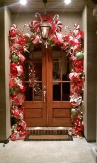 ** DIY Outdoor Christmas Decorations For The Entryway