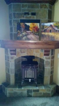 Alcove Fireplace Ideas on Pinterest | Wood Burning Stoves ...