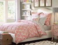 Grey, pink, white color scheme Teenage Girl Bedroom Ideas ...