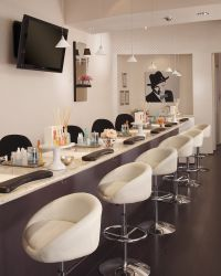 Nail Salon Design | Launch Party | Pinterest | Nail salon ...