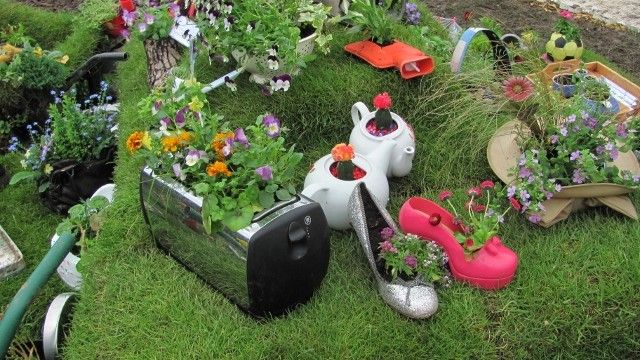 Garden Toaster And Small Appliance Planter Ideas Catch A