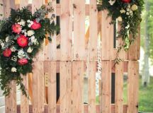 100 Amazing Wedding Backdrop Ideas | Backdrops, Pallets ...