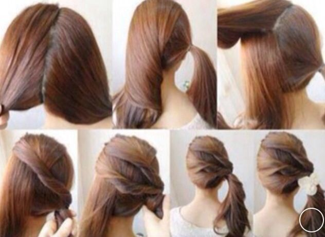 Hairstyles For Long Hair Step By Step Google Search Hair