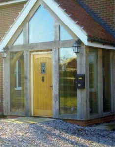 Oak porches green timber frame for your home oakley framing also best front porch images on pinterest rh uk