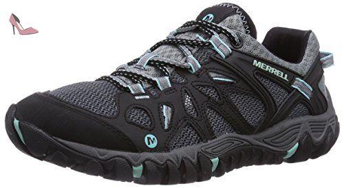 merrell all out blaze aero sport chaussures de randonnee tige basse femme black