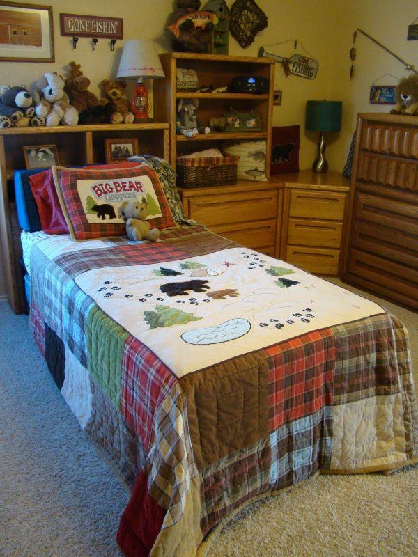 Lodge Bedding Fishing Woolrich