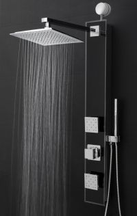 Features: -Shower panel system comes with a easy connect ...