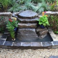 Small Rock Ponds With Fountains Design, Pictures, Remodel ...