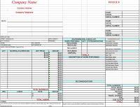 free hvac invoice template excel pdf word doc hvac invoice ...