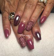 chrome nail art design vana's