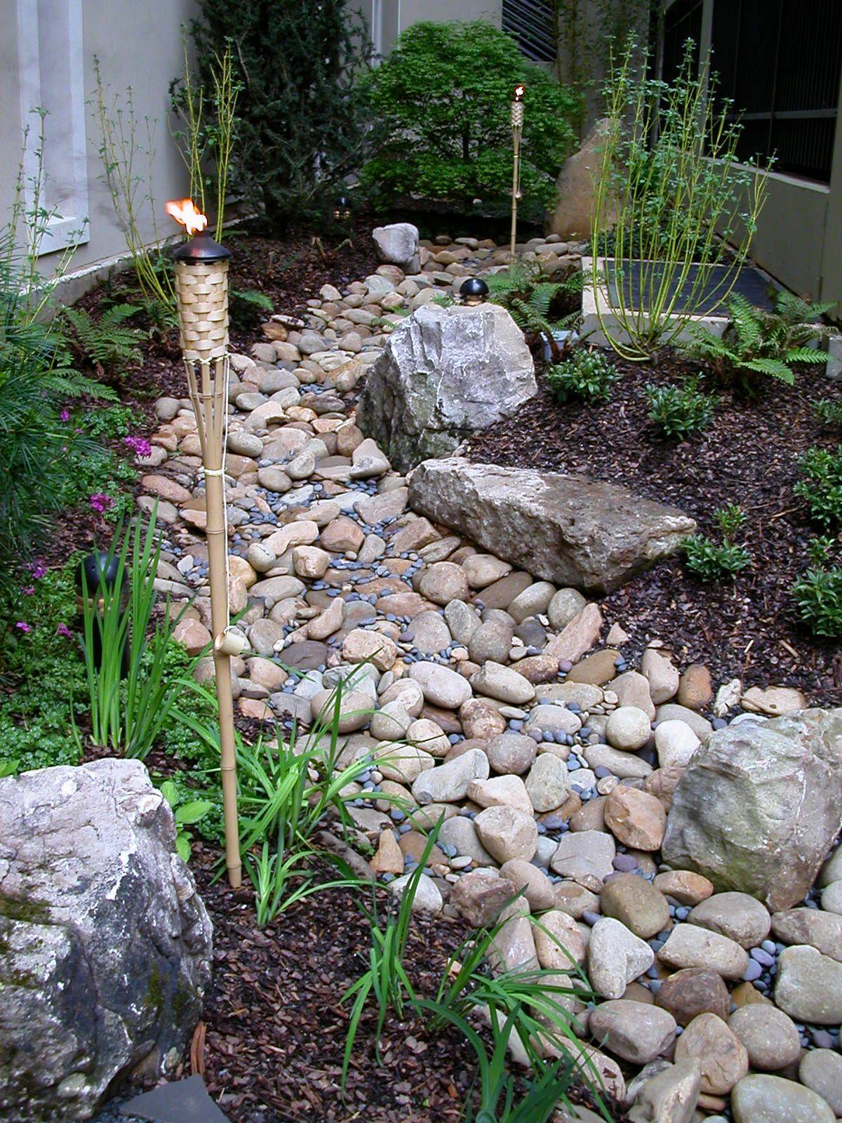 Dry Creek Landscape Design Front Yard - Boisholz