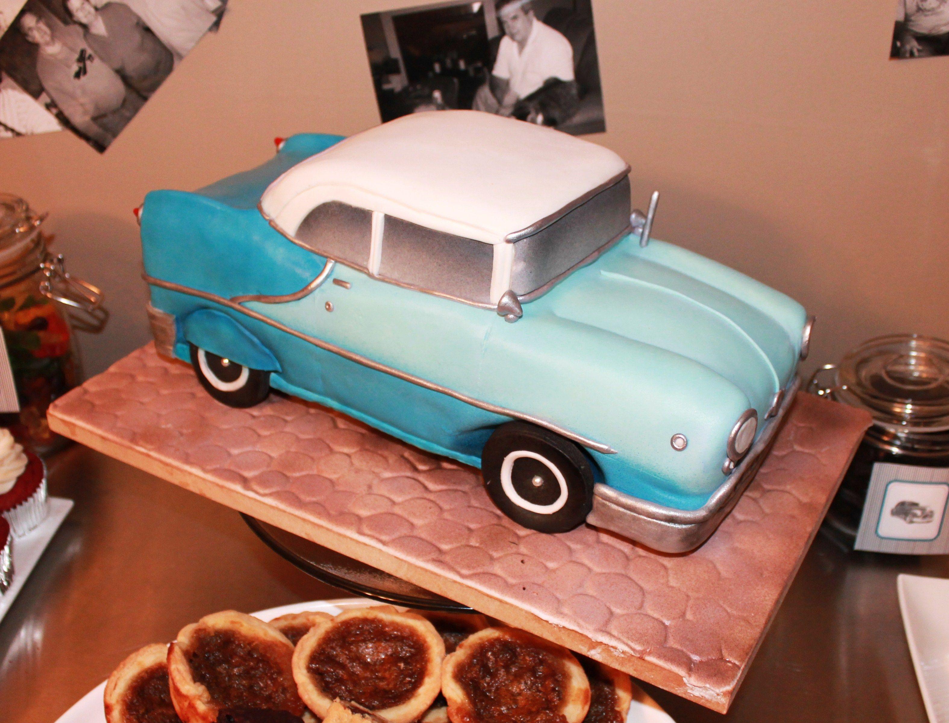 Replica Vintage Car Cake Www Facebook Com Sugspicecakes
