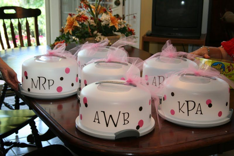 Bridal Shower  Hostess Gifts on Pinterest  Hostess Gifts Cake Carrier and West Elm