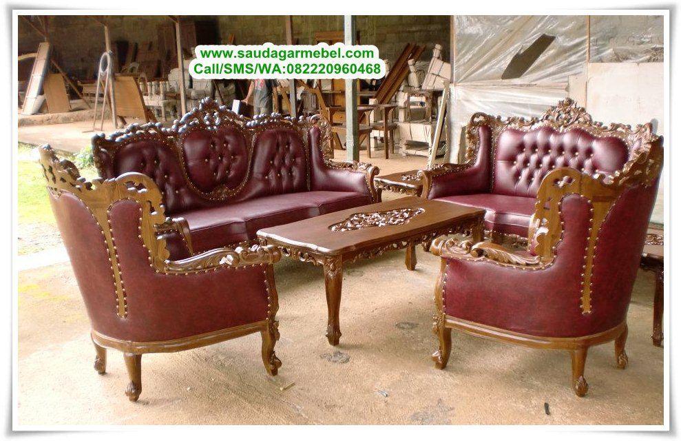 Kursi Sofa Romawi Virginia Pilihan Ruang Tamu Terbaru Dari Mebel Jepara Dengan Kualitas Dan Model Yang Modern