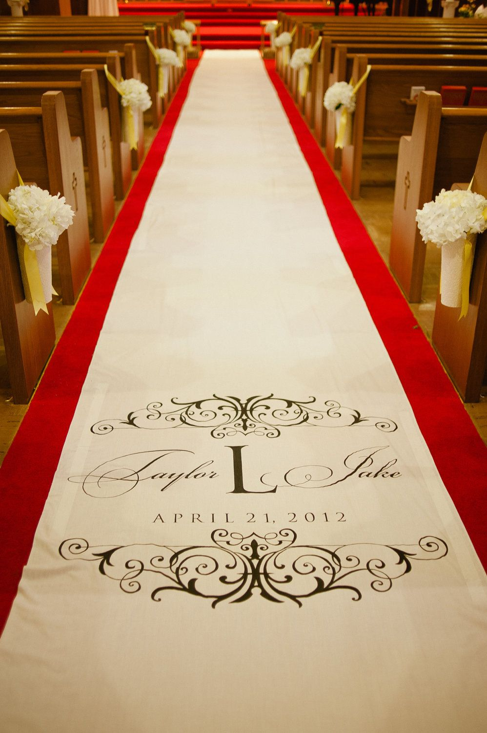 Aisle Runners Custom Aisle Runners With By
