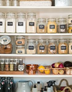 Cool when it comes to pantry organization   out with the old and in also best images about on pinterest home kitchen rh