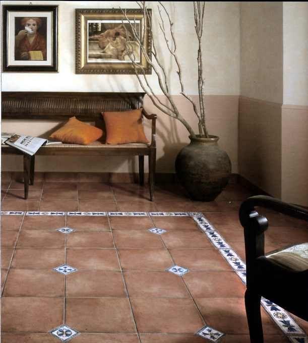 Terracotta Fliesen Wohnzimmer natursteine antike fliesen f r ihr wohnzimmer von topceramic