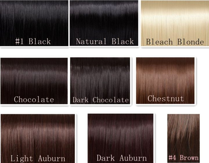 Dark Chestnut Hair Color Chart Todayss