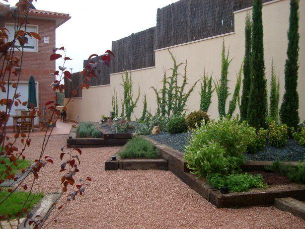 decoracion de jardines pequeos minimalistas  Diseo de