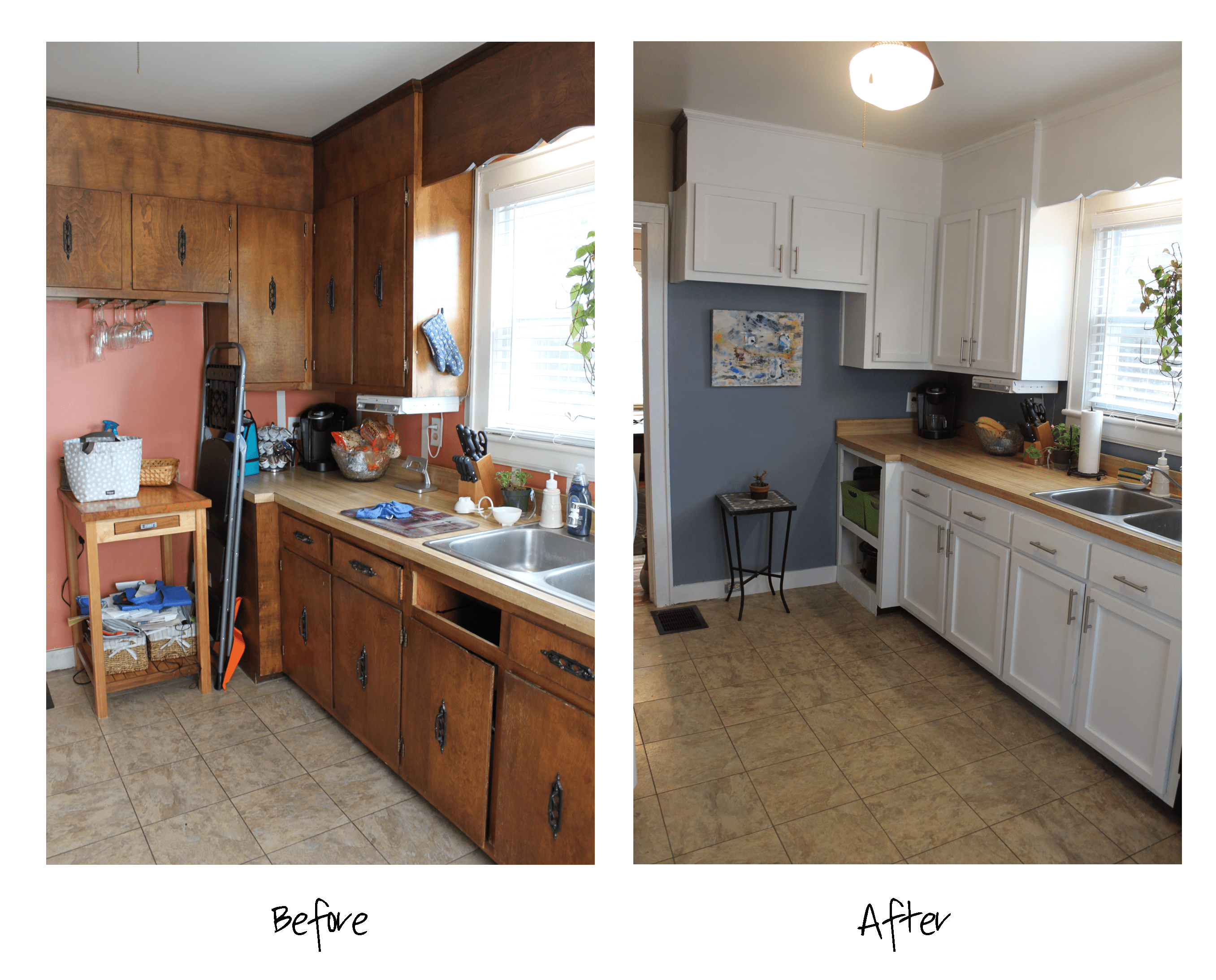sherwin williams paint for kitchen cabinets pantry organizers before and after storm cloud by