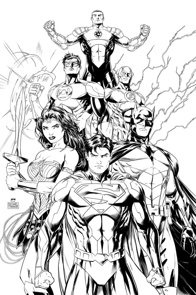 Pics Of Dc Comic Book Coloring Pages Comics Justice League Pagesdc